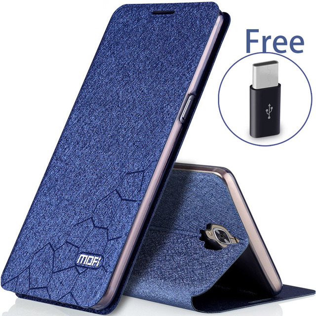 separation shoes faf4f db8f2 US $8.92 15% OFF|oneplus 3 case 3t flip leather mofi cover original one  plus 3 case oneplus 5.5 back silicon 3 T coque oneplus 3 case-in Flip Cases  ...