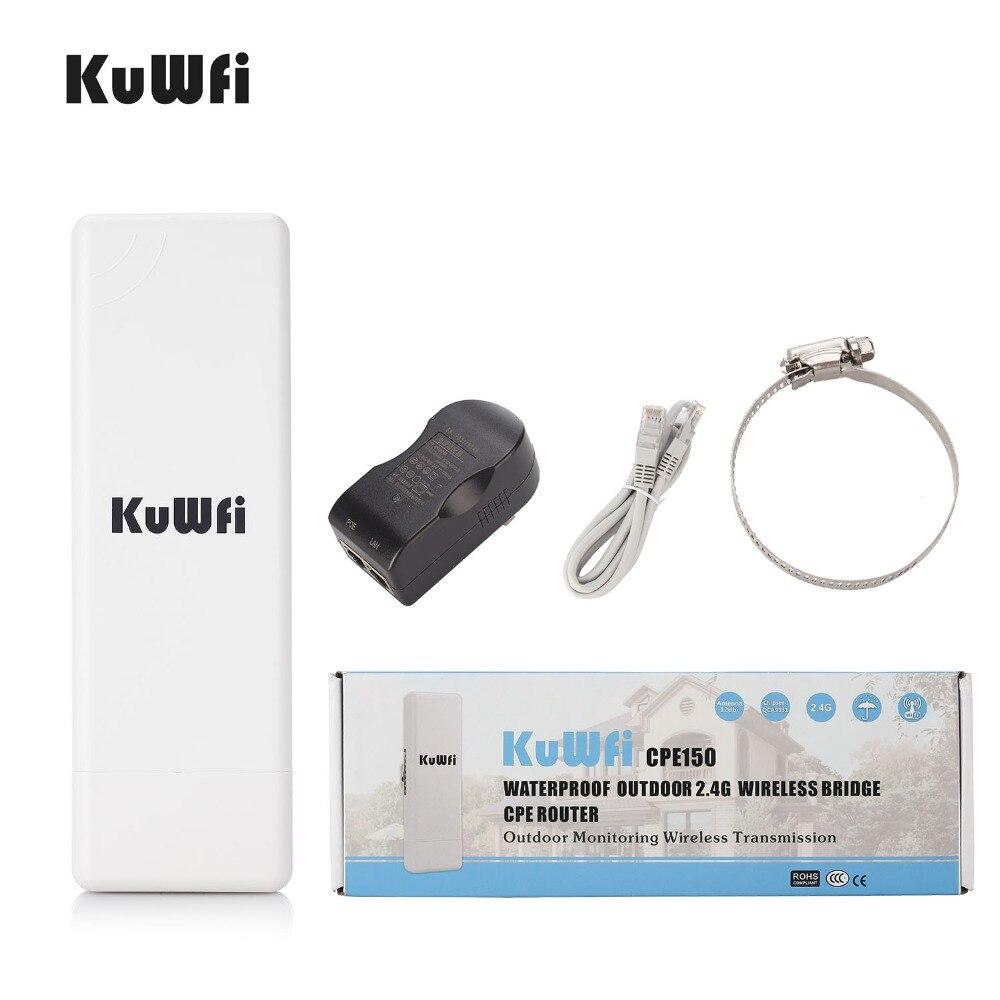 2 KM Sans Fil Extérieure CPE routeur WIFI 150 Mbps Point D'accès routeur ap 1000 mW WIFI Pont répéteur wi-fi prolongateur WIFI Soutien WDS - 4