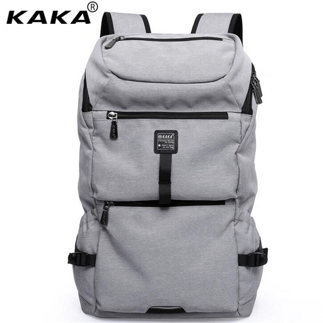 df5ec70c7132 KAKA Hot Sale Europe United States Men s Backpacks Light Fashion Women Travel  Bags 15.6 Inch Laptop Bag Brand School Bag A289