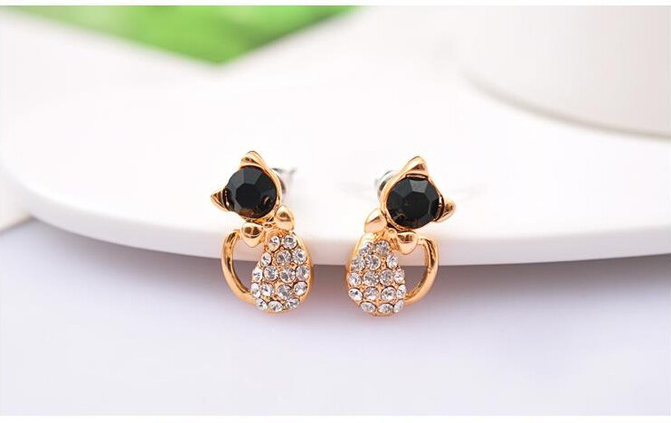 Cat Stud Earrings 5
