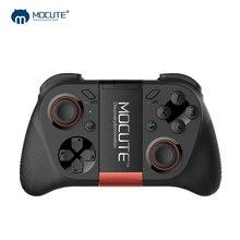 MOCUTE 050 VR משחק Pad אנדרואיד ג ויסטיק Bluetooth בקר Selfie שלט רחוק תריס Gamepad עבור מחשב חכם טלפון + מחזיק