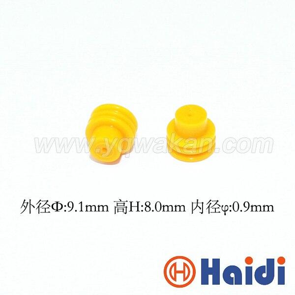 Бесплатная Доставка 100 шт. автомобильный разъем резиновое уплотнение HDY1435 357972742 супер провода уплотнения для авто разъем