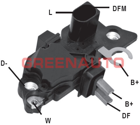 14V ALTERNATORSKI NAPON REGULATOR F00M145225 F00M144136 F00M145350 ZA ALTERNATOR OEM 0124215006 0124215012 ZA AUDI VW SEAT