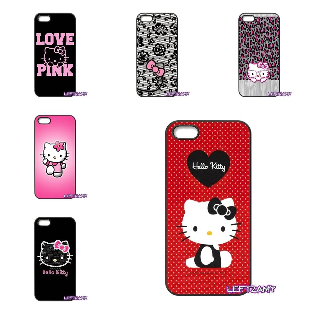 For Lenovo A2010 A6000 S850 K3 K4 K5 K6 Note Samsung Galaxy J1 J2 2015 2016 Cute Cartoon Hello Kitty Cell Phone Case Cover