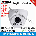 Câmera ip dahua h2.65 ipc-hdw5231r-z 2.8mm ~ 12mm IR50M lente de 2MP WDR varifocal motorizada com slot para Cartão sd câmera de rede POE