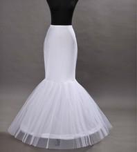 2019 Women Mermaid Petticoat Wedding Crinoline One Hoop Bridal Underskirt Party Accessories