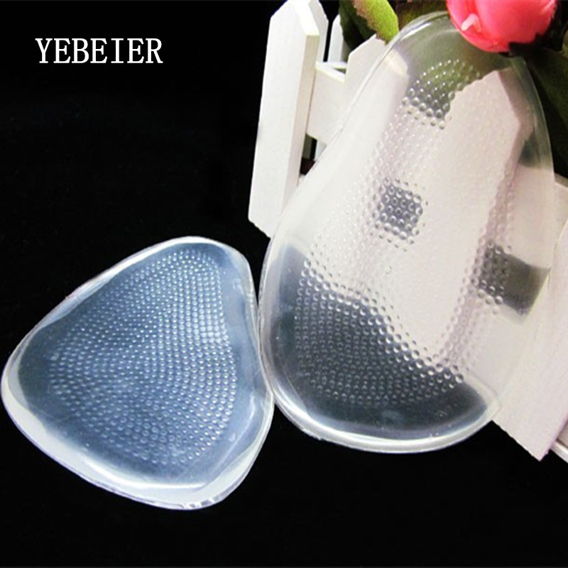 High-heeled shoes forefoot pad silica gel half yard pad transparent insole thickening slip-resistant pad high heeled shoes forefoot pad silica gel half yard pad transparent insole thickening slip resistant pad