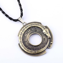 Assassins Creed Chain Necklace Connor Amulet Pendant Necklace 2016 Friendship Men Women Hot Game Jewelry Accessories