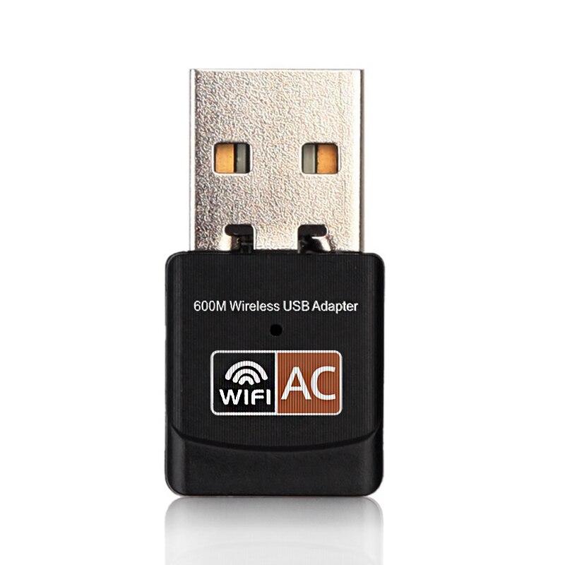 Zielsetzung Imice Usb Wifi Adapter 600 Mbps Wireless Ethernet Netzwerk Karte Ac Dual Band 2,4g/5.g Usb Wifi Dongle Wifi Empfänger 802.11ac Netzwerk Karten