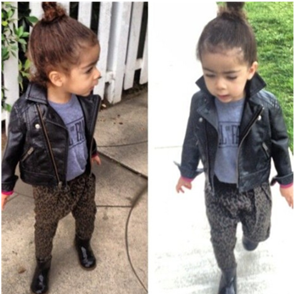 Toddler leather jackets