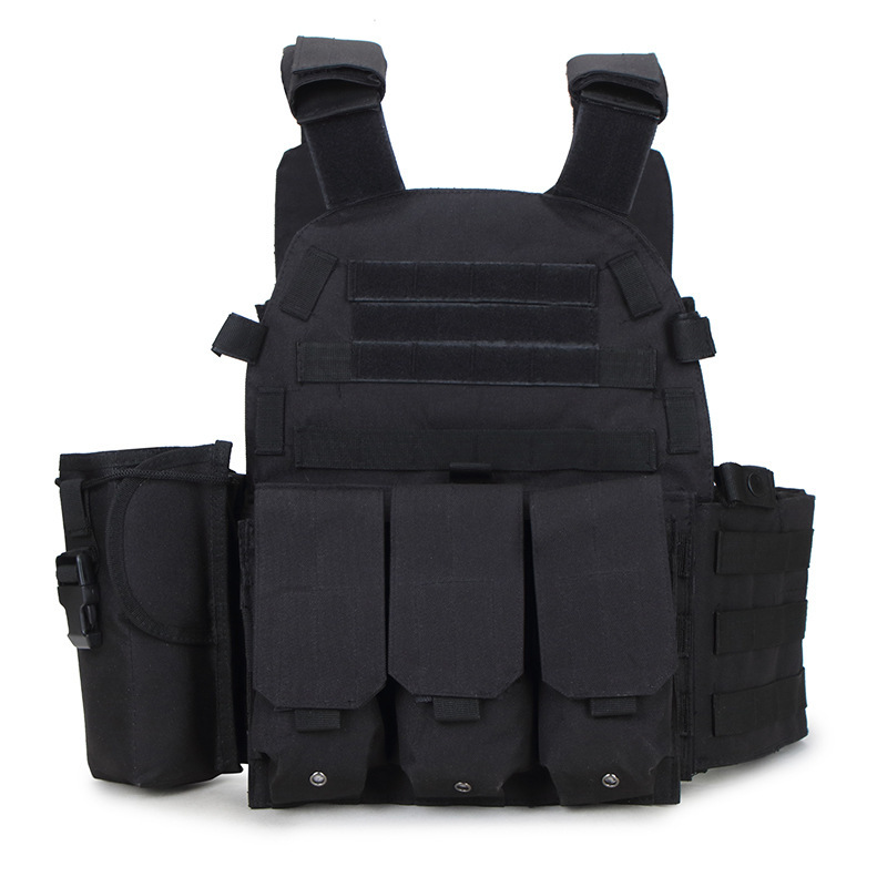 Adjustable Tactical Vest Hunting Equipment Airsoft Vest Army Military Police Gear Outdoor Sport CS Wargame Paintball Molle Vest top quality 1000d military vest airsoft tactical equipment hunting molle combat vest hunting gear police clothes
