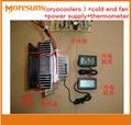 Электронный полупроводниковый Термоэлектрический охладитель осушителя DIY  1 комплект  12 В  можно использовать для охлаждения холодильника