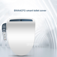 BWA437G умная крышка для унитаза, автоматическая крышка для унитаза, чистящее сухое сиденье, Отопление, домашнее WC умное сиденье для унитаза, к