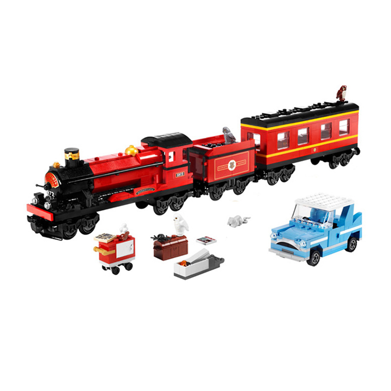 Lepin 16031 724Pcs Harry Potter Hogwart's Express Train Building Block 4841 Creative Toys For Children Christmas Gift Legoed ид бурда журнал тест драйв 02 2015
