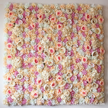 1 pcs background artificial flowers wedding decorative flower wall arches silk