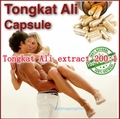 1Pack High Quality Tongkat Ali extract 200:1 Powder 400mg x 100capsule free shipping