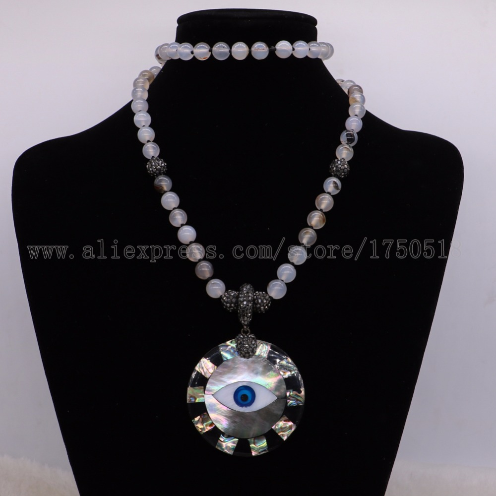 Natural onyx necklace with abalone pendants beaded chain gems for natural onyx necklace with abalone pendants beaded chain gems for women necklace costume jewelry for women 2238 in torques from jewelry accessories on mozeypictures Image collections