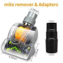 Универсальный с Воздушным приводом Turbo пыли и клещей Remover, пылесосы для автомобиля кисточки бытовая техника запасных Запчасти