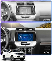 Super Slim Touch Screen Android 8.1 GPS Navigation for toyota prado 2018 car radio headunit tablets Stereo Multimedia Bluetooth