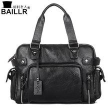 BAILLR Handtasche Luxus Pu-leder Mann Taschen Vintage Geschäfts Große griff Tasche Mode Für Männer Schulter männer Casual Große Trage taschen