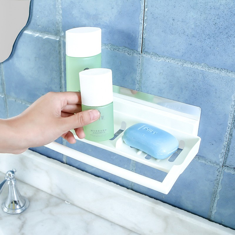 Bathroom Towel Rack Toilet soap Toiletries Storage Holder Seamless ...