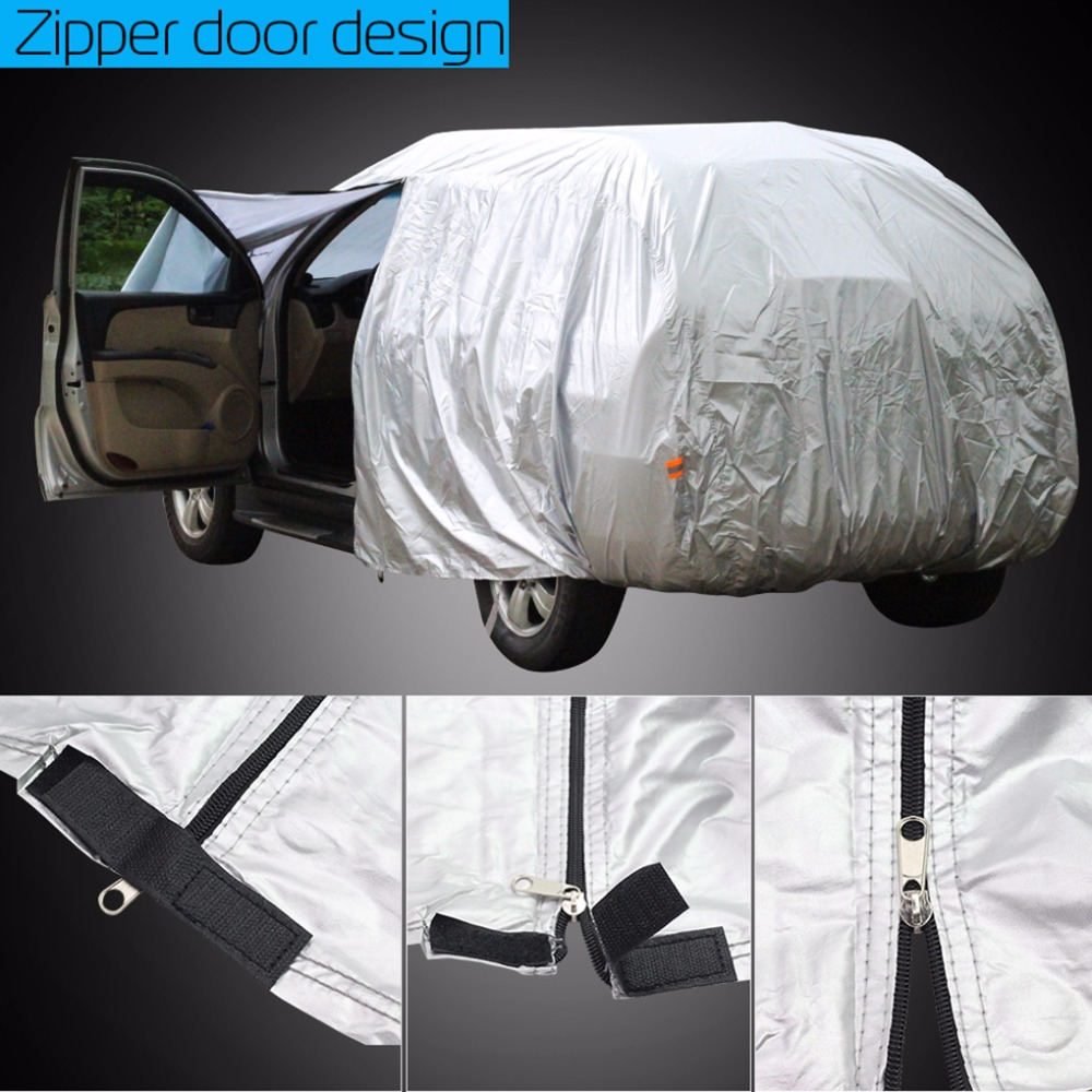 Cawanerl Full Car Cover Sun Snow Rain Protector Anti UV Cover For Pontiac Montana Torrent Vibe Bonneville Grand Prix Sunfire