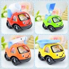 4 Style kreatywny wycofać Cartoon inżynieria Model samochodu Diecast samochody zabawkowe pojazdy zabawkowe samochody dla dzieci Ramdon Style