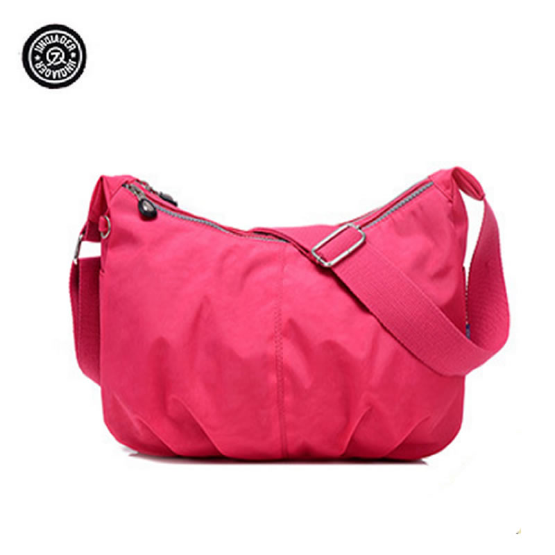 JINQIAOER Waterproof Women Bags New Casual Woman Messenger Bag Nylon Ladies Shoulder Bags Crossbody Bag For Women Sac A Main