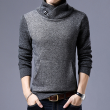2017 Autumn Winter Fashion Casual Sweater Men Loose Fit 100% Acrylic Warm Knitting Clothes Sweater Coats Men