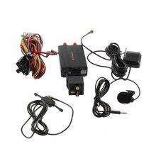 1 компл. Авто TK103B Автомобиля GPS Tracker Автомобиля GSM/GPRS Устройство Слежения с Дистанционным Управлением rastreador veicular