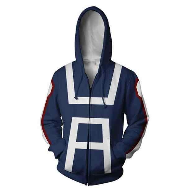 S 5XL Толстовка Bakugou Katsuki куртка с надписью My Hero academic толстовка капюшоном Izuku Midoriya