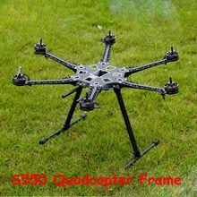 RC drone S550  6-axis frame Aeromodelismo Diy Multicopter Diy Drone Carbon Fiber Quadcopter Frame Quadrocopter Kit S550