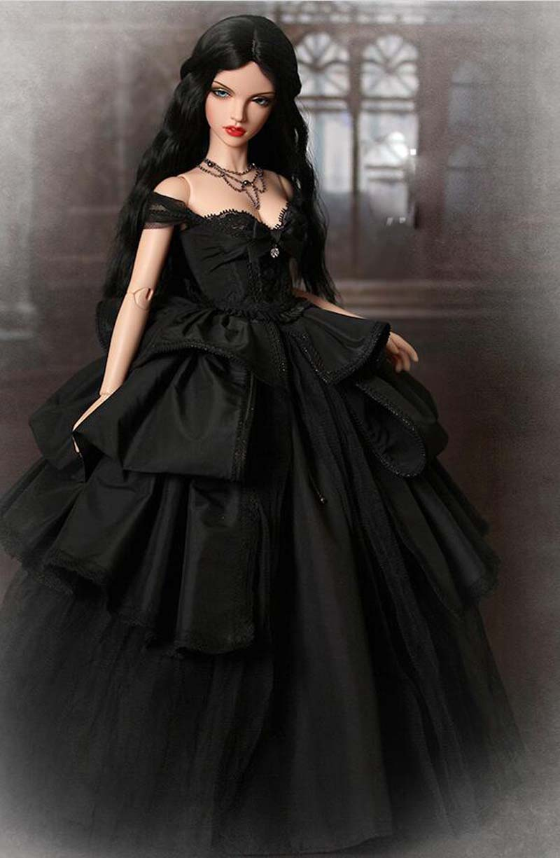 New Arrival 1/4 BJD Doll BJD/SD Fashion Beautiful Violet Doll For Baby Girl Gift With Make up