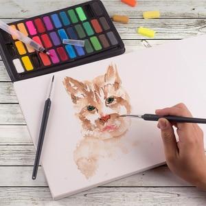 Image 4 - Chuyên Nghiệp Màu Nước Miếng Lót 300gsm 20 Tờ Màu Nước Sketchbook Cho Họa Sĩ Tay Tranh Nghệ Thuật Vẽ Tiếp Liệu