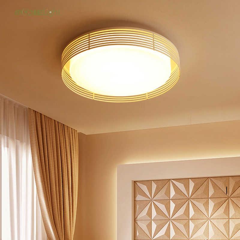 Светодиодный потолочный светильник в скандинавском стиле, потолочный светильник с дистанционным управлением, регулируемое изменение цвета, железный светильник для гостиной, спальни