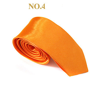 Fashion Multi Color Polyester Skinny Necktie Tie for Men
