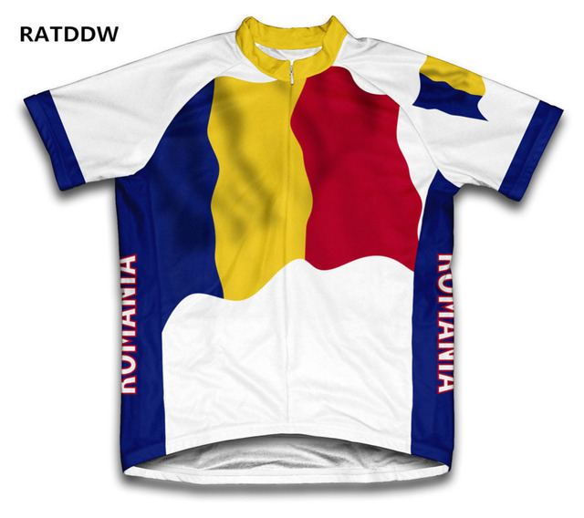 Romania Flag Men Cycling Jersey Mountain Bicycle Bike Clothing clothes  Sportswear Racing Cycle Jerseys Ropa Ciclismo 00e6bcb93