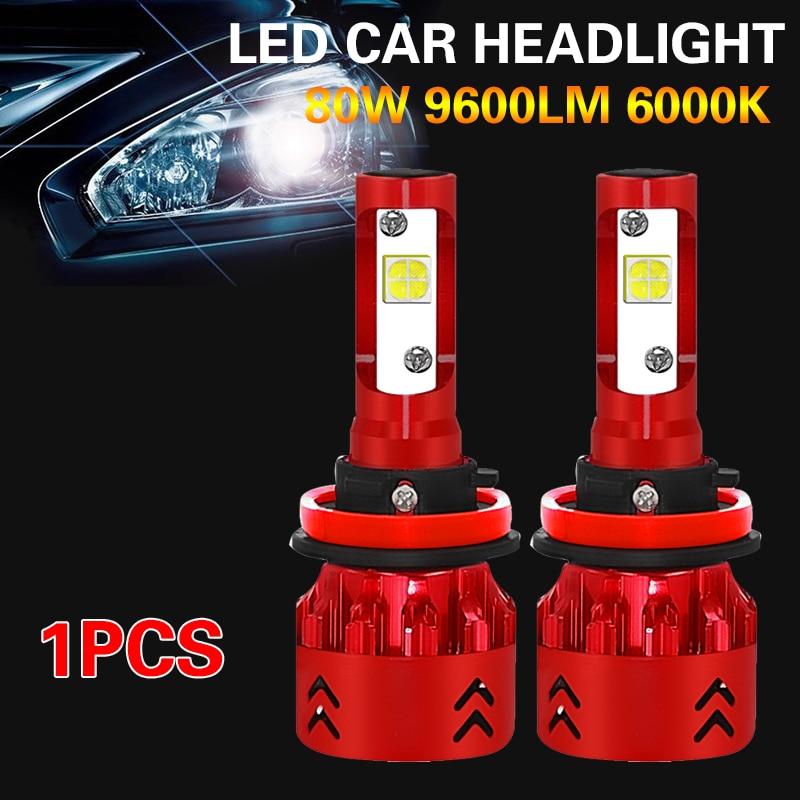 Светодиодный фар H8/H9/H11 супер яркий светодиодный Противотуманные фары; замена передней высокое Мощность стайлинга автомобилей
