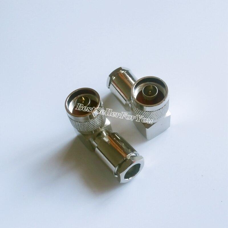 Işıklar ve Aydınlatma'ten Konnektörler'de 1 adet N erkek dik açı kelepçe RG8 LMR400 RG213 214 LMR400 7D FB RF konektörü title=
