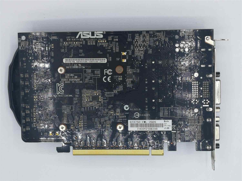 ¡Se original ASUS GTX 750 2G GDDR5 128bit HD tarjeta de vídeo 100% probado bien!