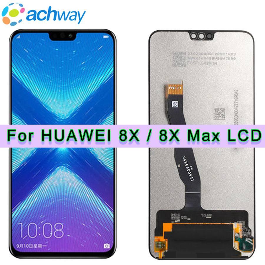 Huawei Honor 8X Convertisseur analogique-numérique D'écran Tactile D'affichage D'affichage à cristaux liquides JSN L22 L21 Pour HUAWEI Honor 8X MAX LCD Honor8X 8 Xmax Écran SONT AL00 Remplacer