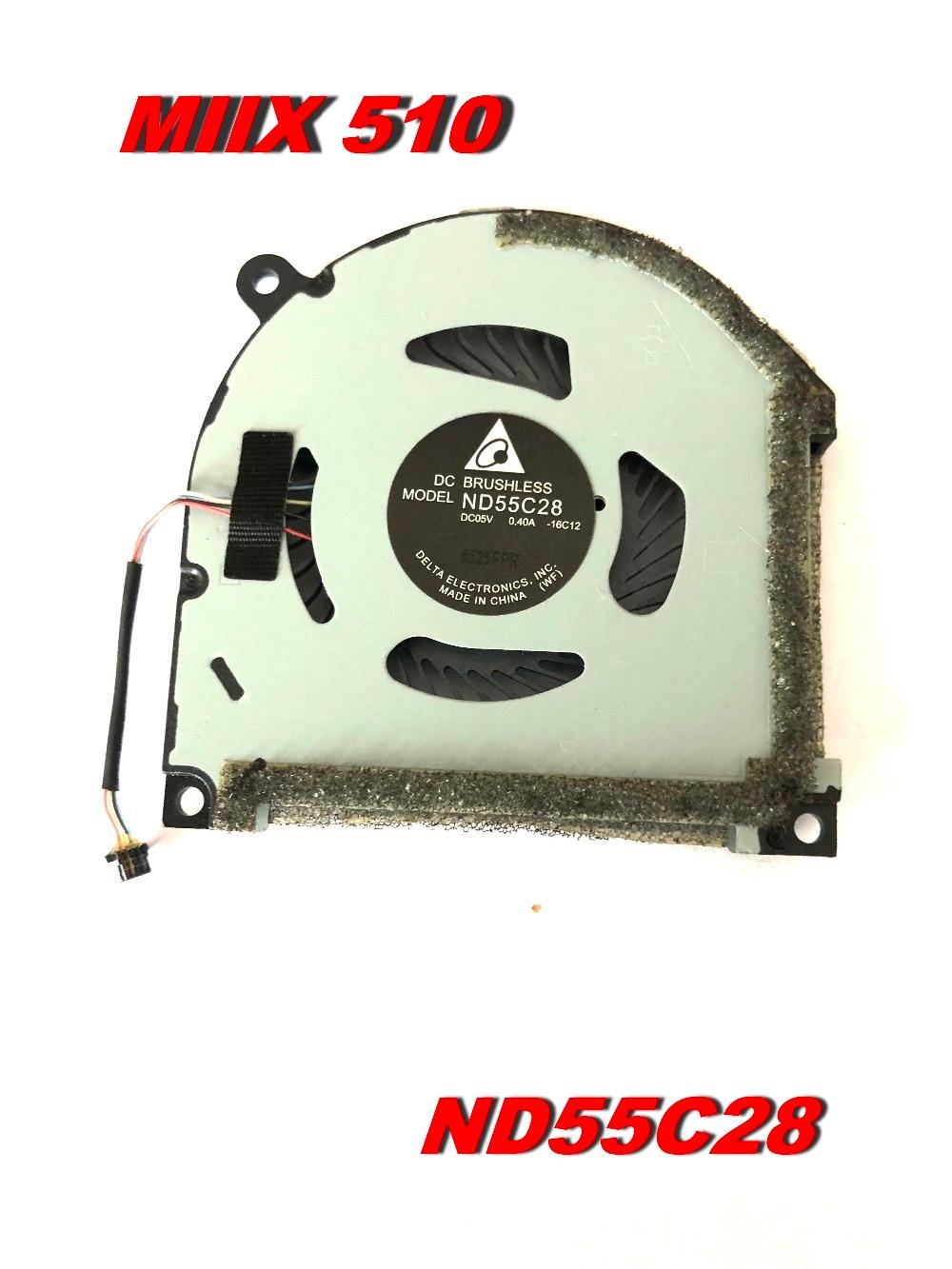 D'origine pour lenovo Miix-510 Miix510 Tablette ND55C28 ventilateur cpu TAMPONS