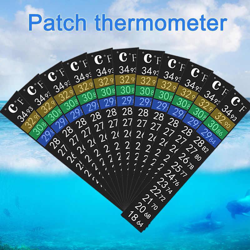 3D цифровой электронный измерение температуры аквариума высокой точности без вольтметр, термометр термонаклейки