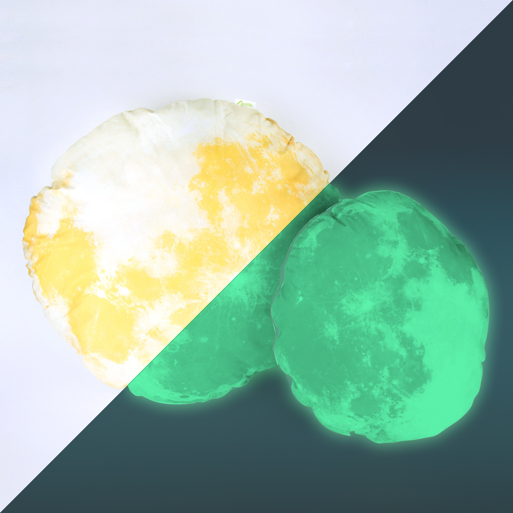 Luminous 3D Moon Pillow