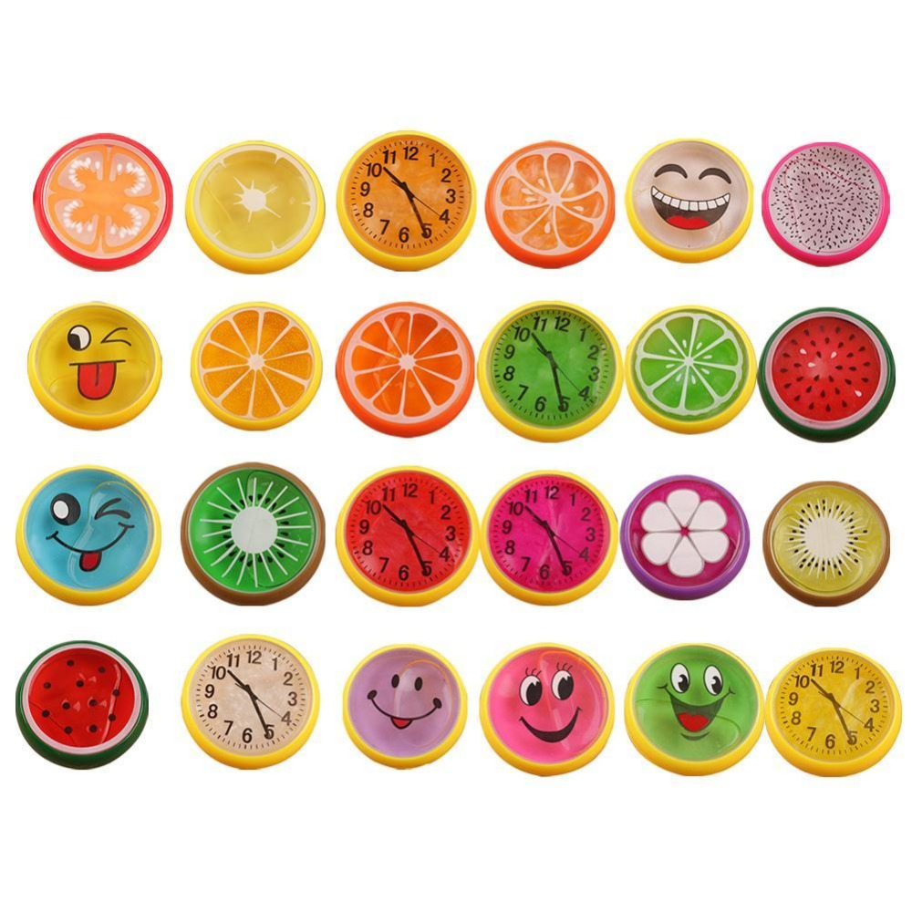 Crystal SLIME DIY Emoji Watch Mud Jelly Non toxic magnetic Silly Handgum Putty Ferrofluid Polyer LIZUN