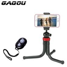 GAQOU мини штатив Гибкий Осьминог штатив для мобильного телефона кронштейн с монопод с дистанционным управлением селфи палка для iPhone Gopro камера