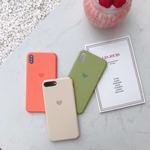 Fragrant little love for mobile phone case iPhonexs/max/7plus all-inclusive matte hard shell