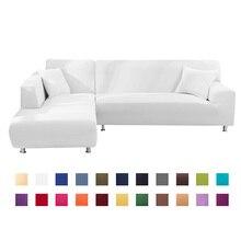 1 o 2 uds. Fundas para sofá de esquina sofá en forma de L sofá de sala sofá seccional Longue funda de sofá esquinero sofá elástico