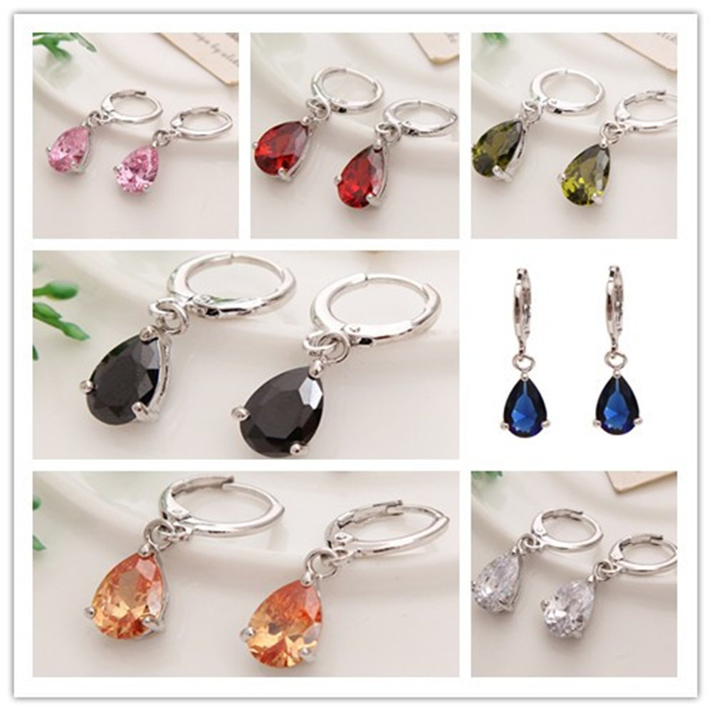 Aliexpress.com : Buy fashion Austrian Crystal Water Drop ...