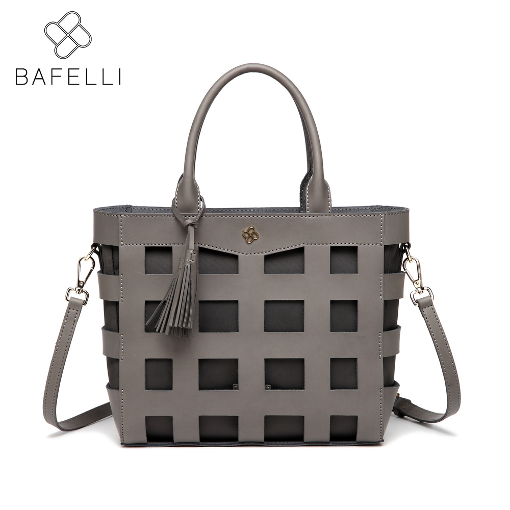 BAFELLI spring with the new casual tote shoulder handbag fashion hollow out crossbody bolsa mujer women messenger bag